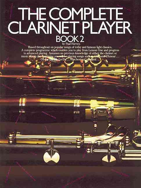 Complete Clarinet Player Book 2 By Harvey, Paul